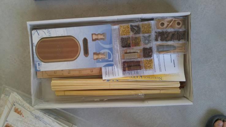 Сборная деревянная модель 1/90 Галеон San Martin  OcCre Испания, фото №4