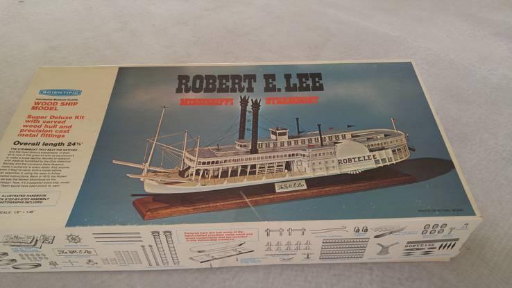Сборная модель из дерева Robert E. Lee Mississippi Steamboat, фото №5