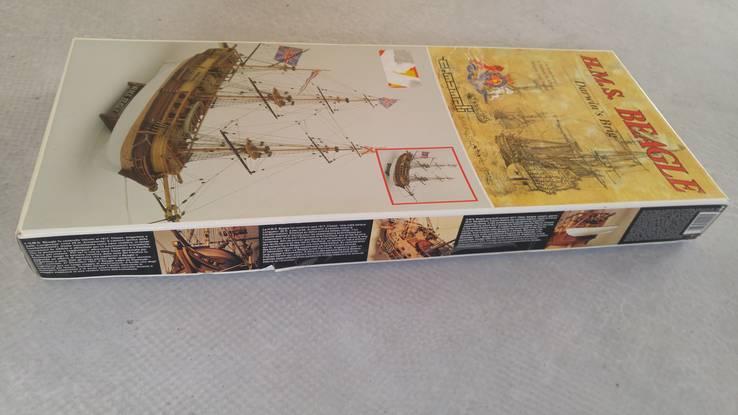 Mamoli иследовательское судно  (H.M.S. Beagle) 1:64 Италия, фото №4