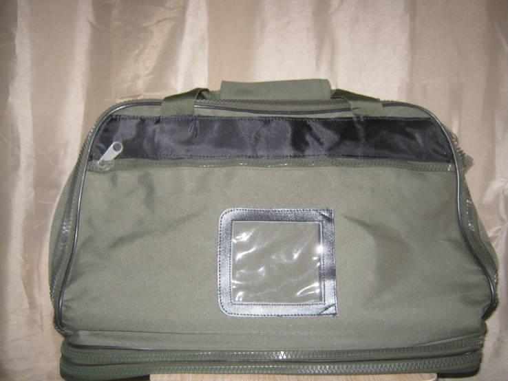 Дорожная сумка-трансформер(3 яруса+рюкзак+ сумочка на пояс), из Германии
