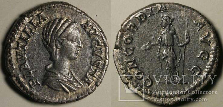 Плаутилла, монетный двор Рим, Конкордия