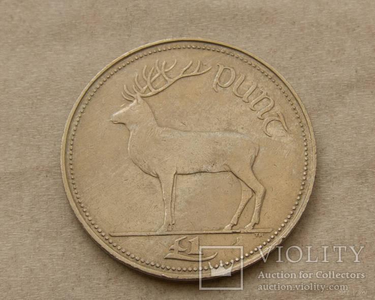 Ирландия 1 фунт 1990