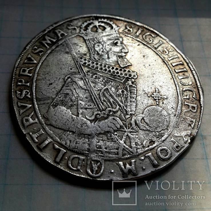Польский талер Сигизмунда ІІІ 1632 года, R1
