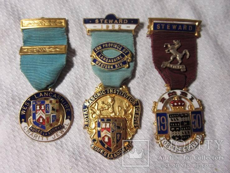 3 медали. Великобритания.