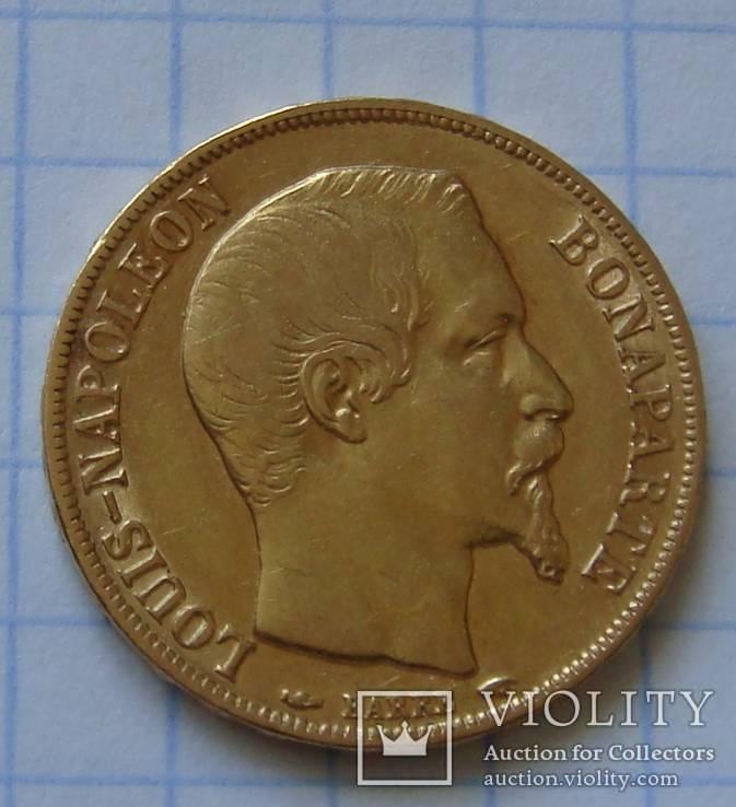 20 франков 1852 года