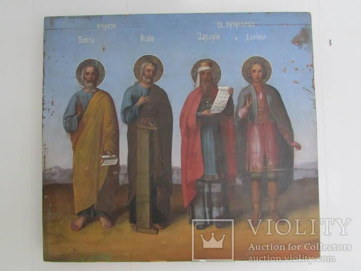 Икона четырех святых .