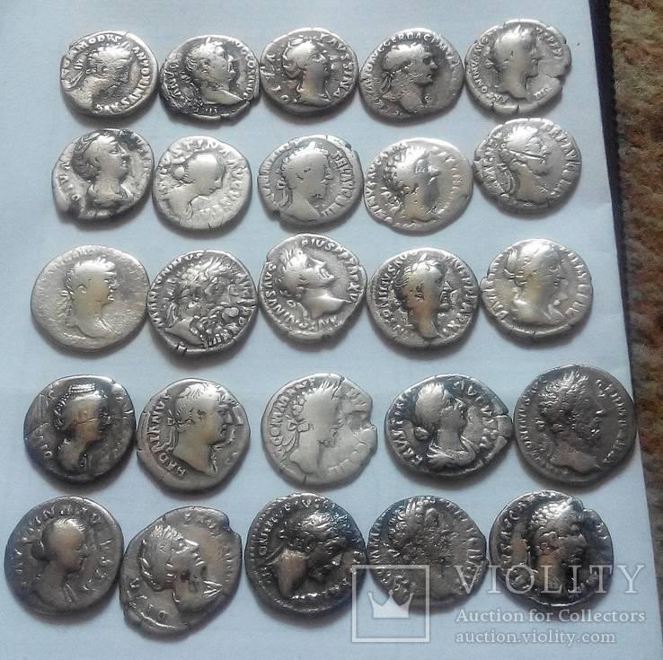 25 монет Римськой імперій