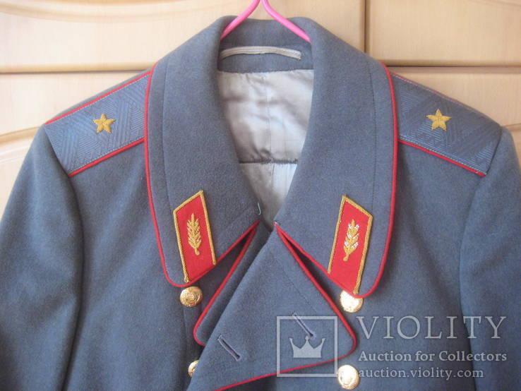 Шинель генерал СССР из 1970-х (отличное состояние), фото №2