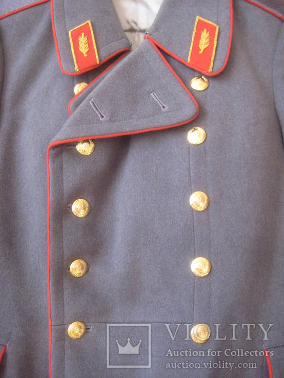 Шинель генерал СССР из 1970-х (отличное состояние), фото №6
