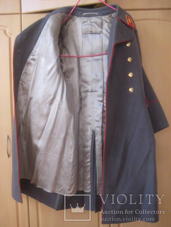Шинель генерал СССР из 1970-х (отличное состояние), фото №9