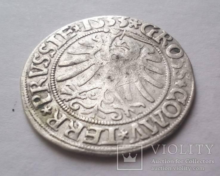 Грош пруський 1533 р.