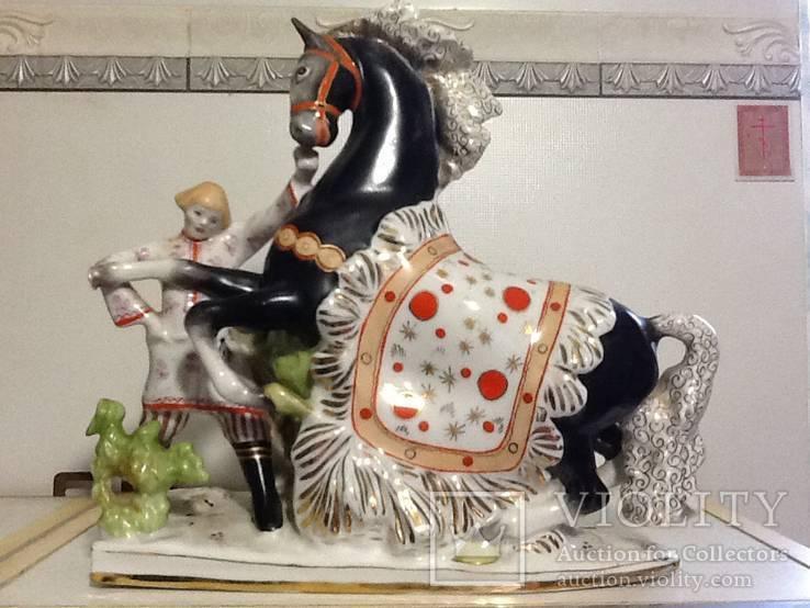 Скульптурная композиция из триптиха Конек горбунок СССР