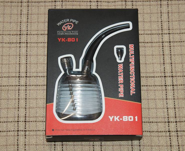 Мини кальян (походный,бульбулятор) №3827 ,новый, с подсветкой