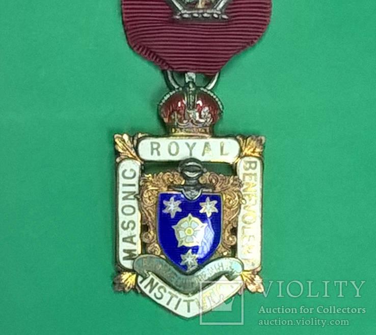 Знак. Награда масонов. Серебро. RMBI 1923 г.