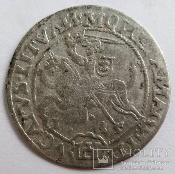 Литовский грош 1535 года