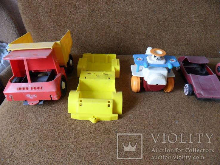 Игрушки , машинки одним лотом, фото №3