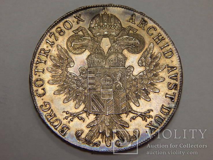 1 талер 1780-х Австро-Венгрия