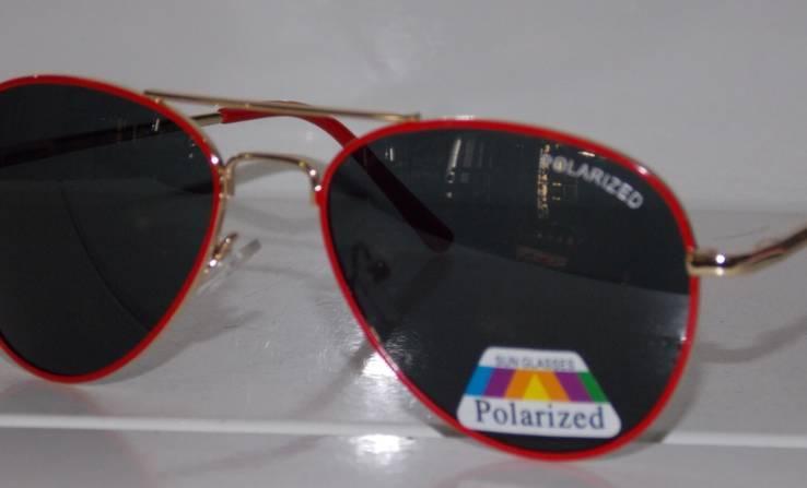Солнцезащитные детские очки Aviator Polaroid