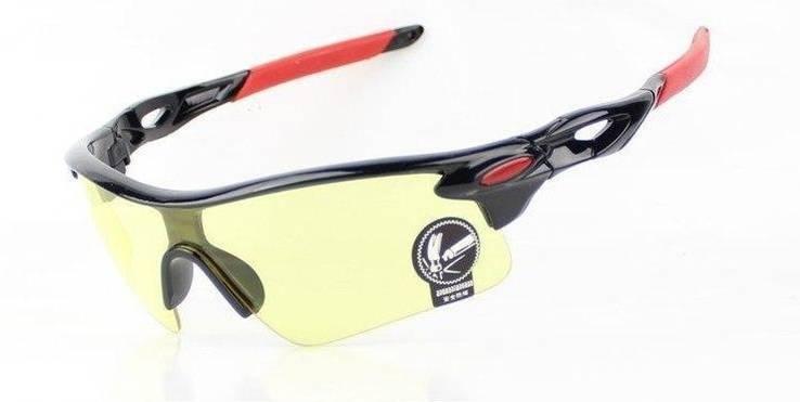 Очки Robesbon желтые тактические, антифары, спортивные, MD