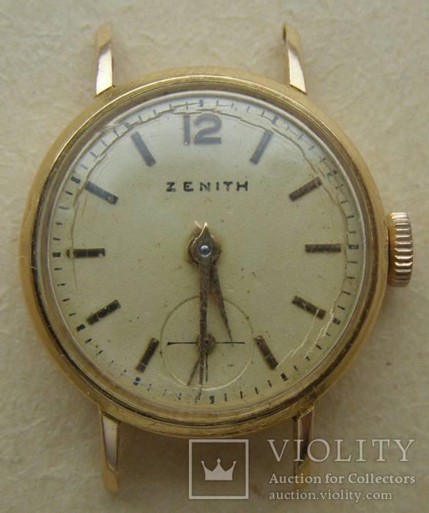 Наручные женские часы ZENITH Золото 750 пр. 18 к. Вес - 4,05 гр.