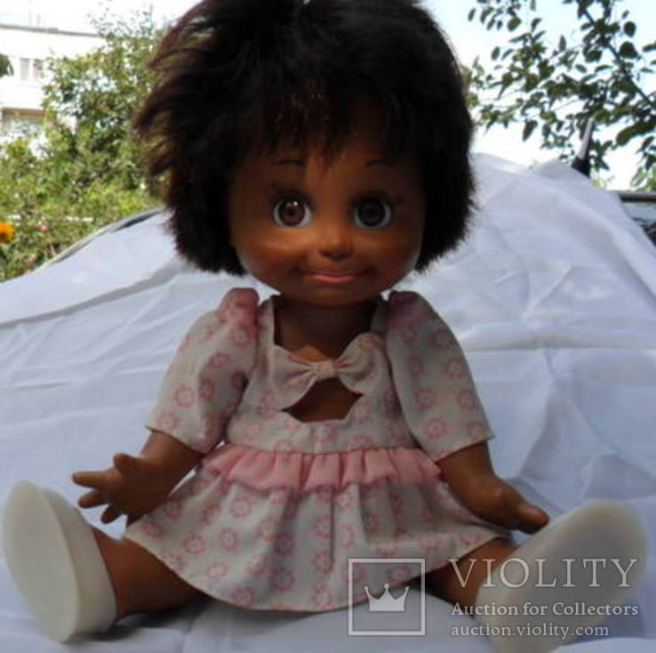 Кукла-мулатка на резинках