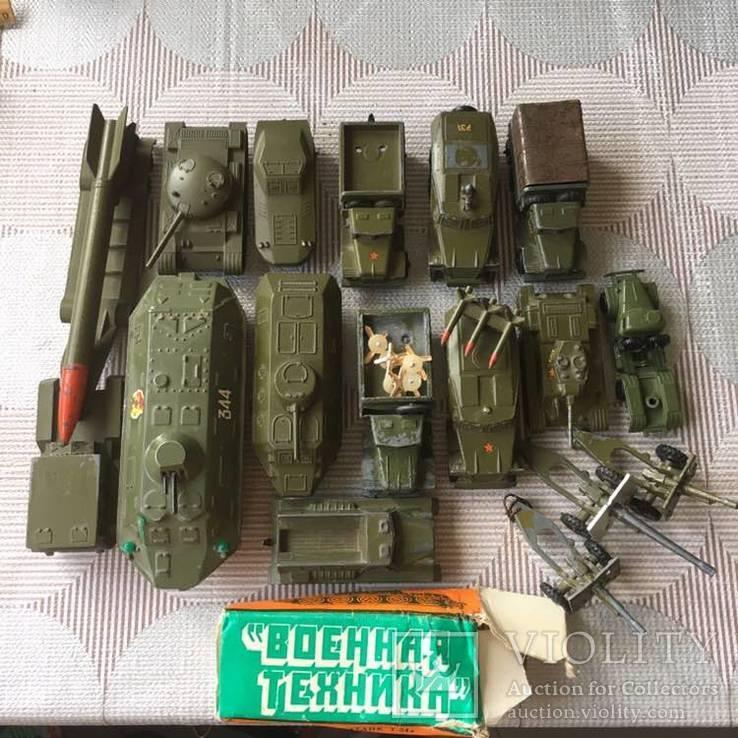 Военная техника 16 шт