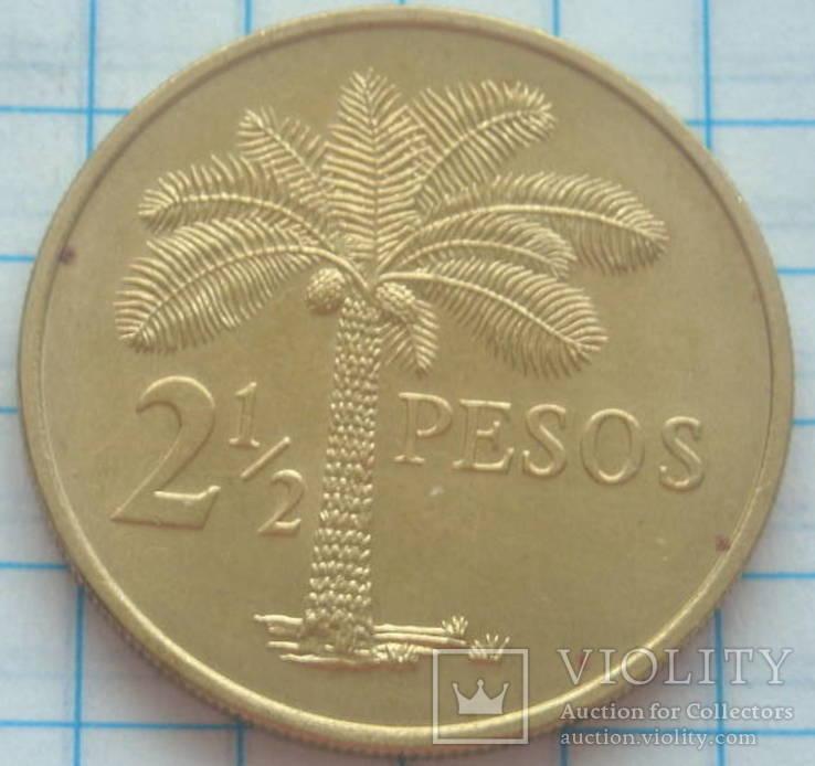 2 1/2 песо, Гвинея-Бисау, 1977г.