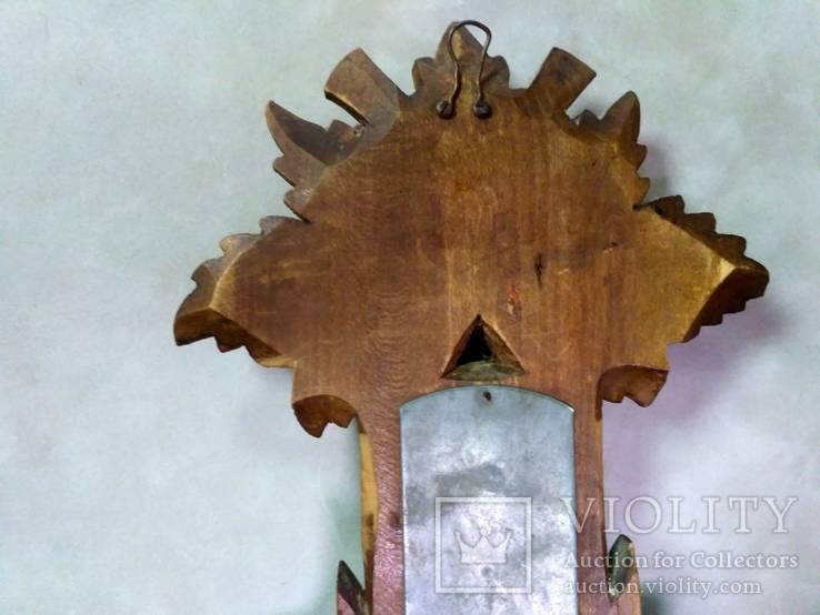 Старинный барометр с термометром, фото №15