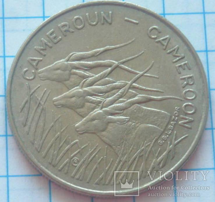 100 франков, Камерун, 1975г.