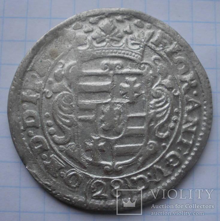 Гульден (флорин) - 28 стуберов (2/3 талера), Йевер (Jever) под Ольденбургом Б/Д (ок.1640)