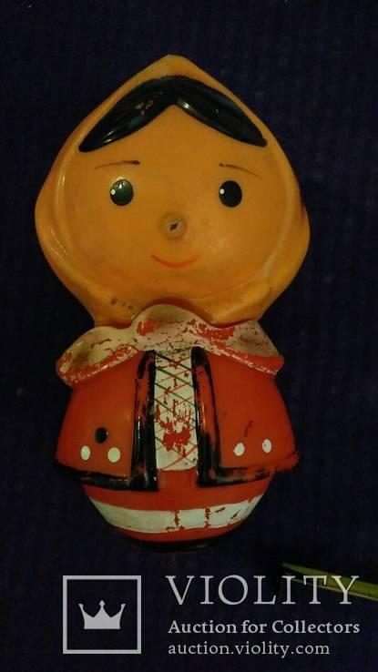 Игрушки СССР 7штук, целулоид, пластик, резина (с клеймами), фото №7