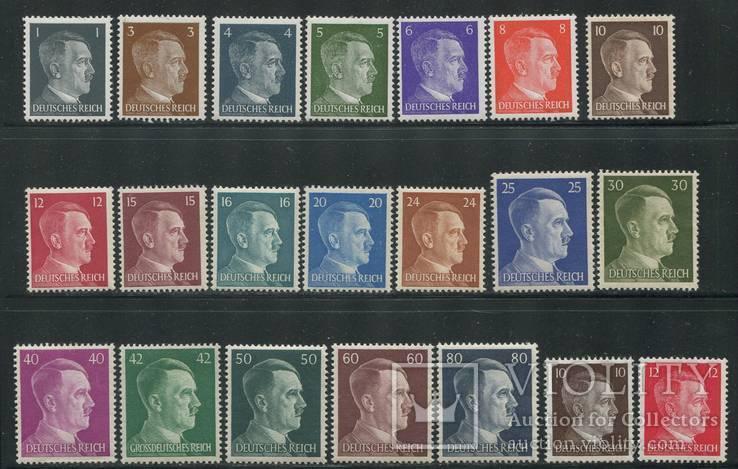 1941 + 1942 Рейх полная серия гитлер 2 полных выпуска MNH **