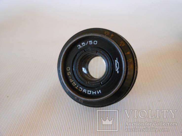Объектив Индустар-50 (черный. М-39) экспорт, фото №8