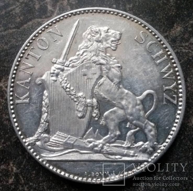 5 франків 1867 Швейцарія, Швіц