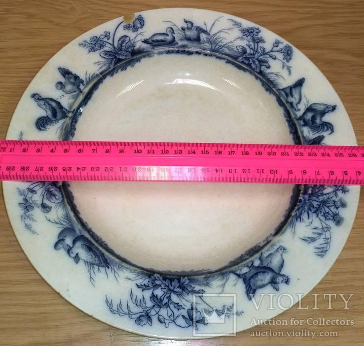 Тарелка суповая. Европа, фото №2