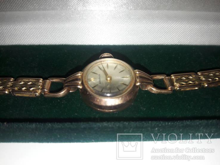 Золотые часы ''Чайка'' с браслетом