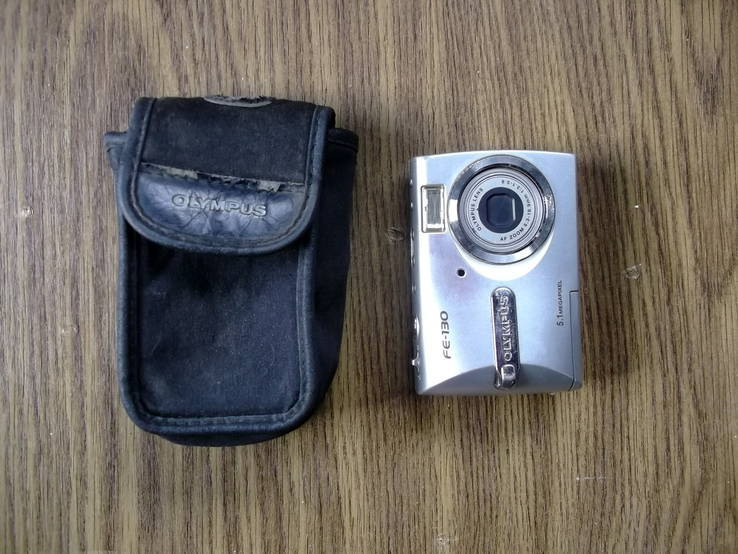 Цифровой фотоаппарат OLIMPUS FE-130. 5,1 Mp с чехлом.