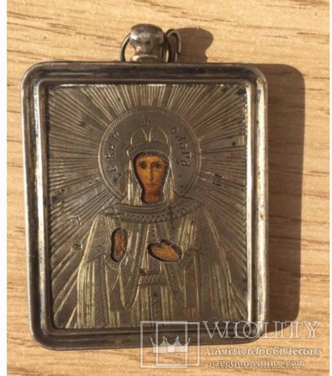 Иконка  св.Княгиня Ольга(повторно связи с невыкупом )