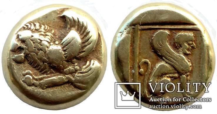 Гекта Lesbos Mytilene 412-378 гг до н.э. (14_7)