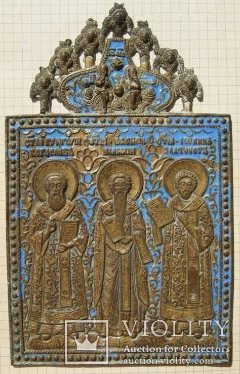 Три Святителя. 19,5 х 12 см
