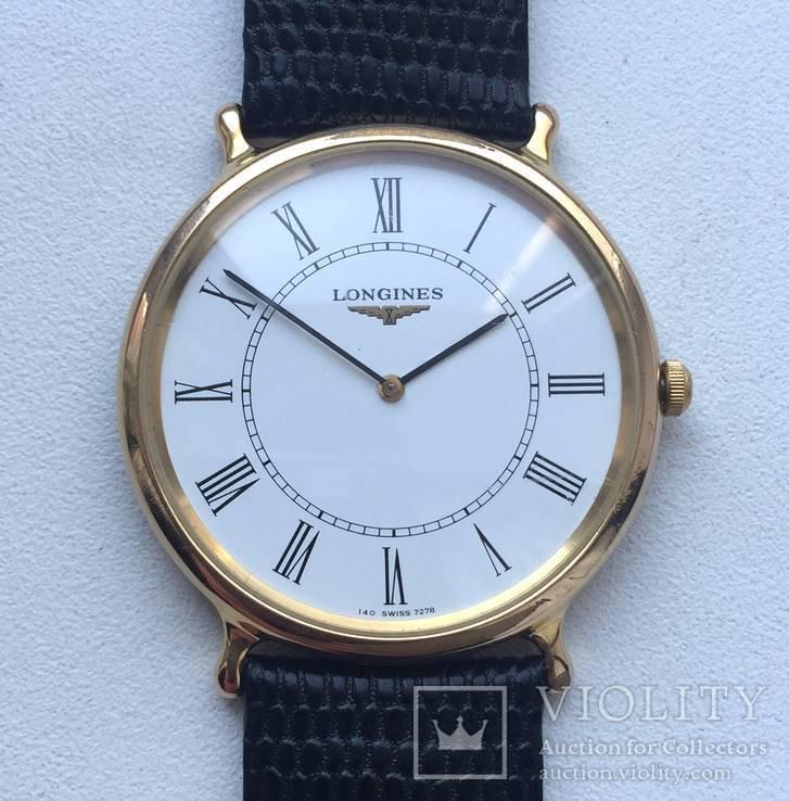 Часы Longines позолоченные