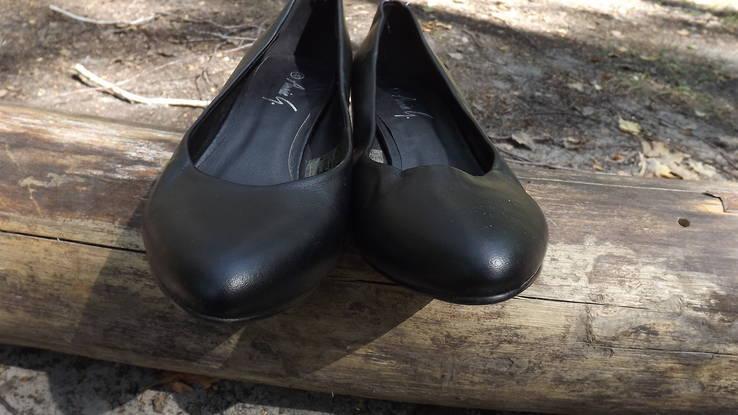 Классические туфли на маленьком каблучке Anniе 38 размер, фото №10