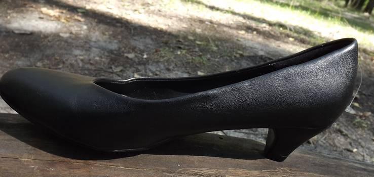 Классические туфли на маленьком каблучке Anniе 38 размер, фото №11