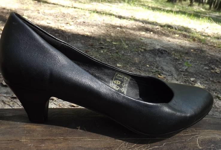 Классические туфли на маленьком каблучке Anniе 38 размер, фото №12