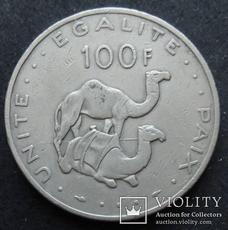 Джибути 1977 100 франков