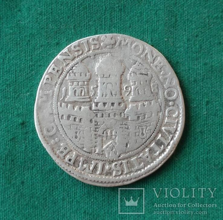 1/2 Арендсриксдаальдера 1598г. Нидерланды