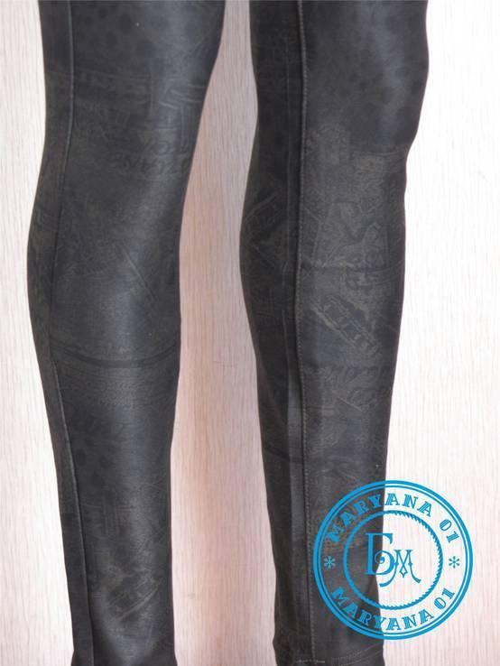 Стрейчевые штаны джегинсы 26 размер, фото №5