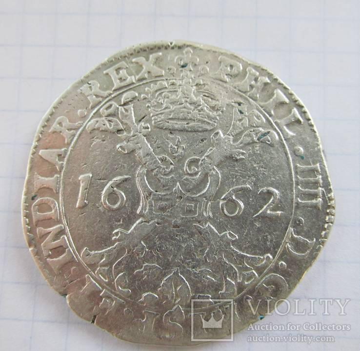 Талер Патагон 1662 р.
