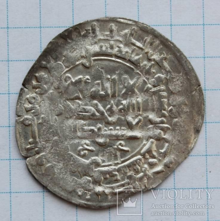 Саманидский дирхем Нух б Наср Самарканд 343г.х.