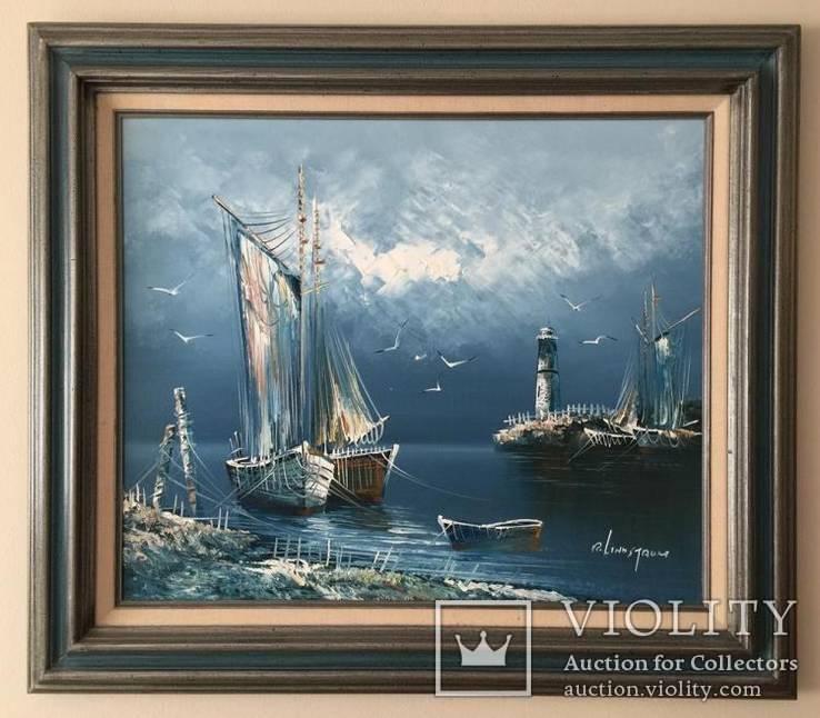 Картина, масло. Рикард Линдстром, Швеция, 1882–1943.